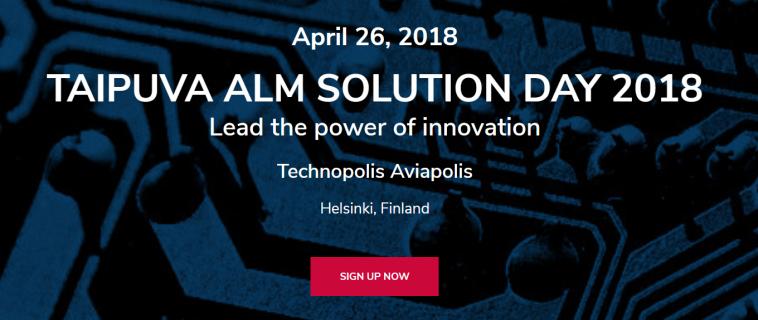 Meet Innokas at Taipuva ALM Solution Day!