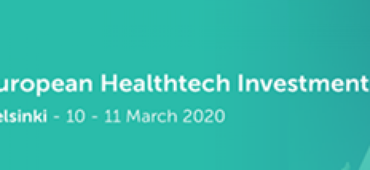 Meet Innokas Medical at European Healthtech Investment Forum -event in Helsinki!