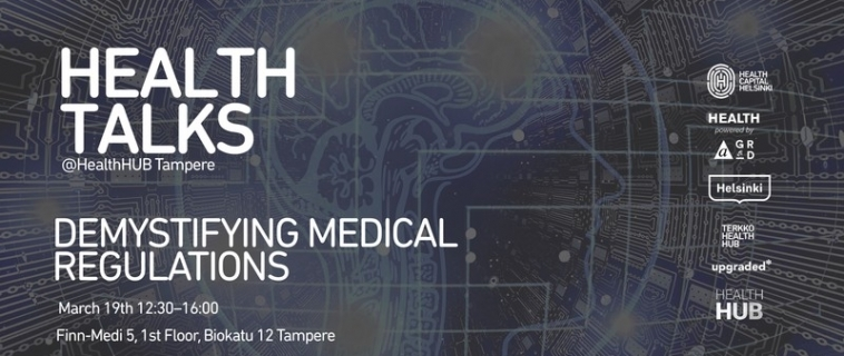 Meet Innokas Medical at Health Talks -event in Tampere!