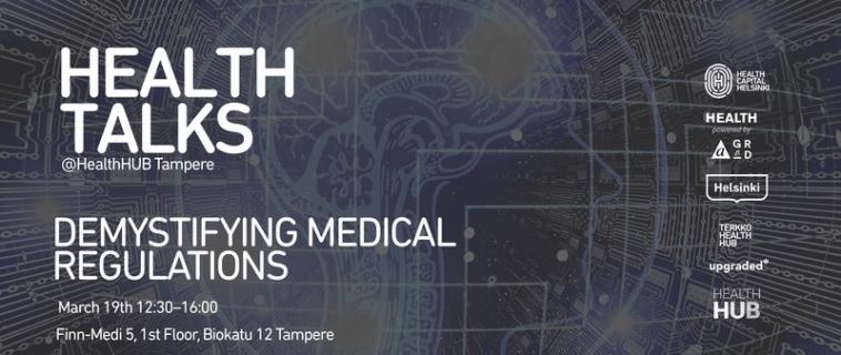 Meet Innokas Medical at Health Talks -event in Tampere!