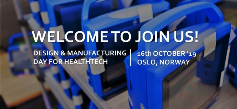 Meet Innokas Medical at Design and Manufacturing Day for Healthtech in Oslo!