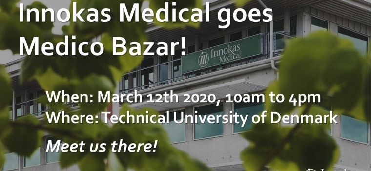 Meet Innokas Medical in Medico Bazar -event in Denmark!