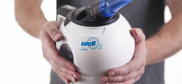 WellO2 makes breathing easier
