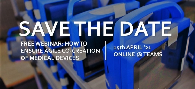 Free Webinar: How to Ensure Agile Co-Creation of Medical Devices?