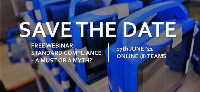 Free Webinar: Standard Compliance – a Must or a Myth?