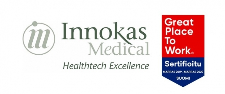 Innokas Medical is among the best places to work in at Finland