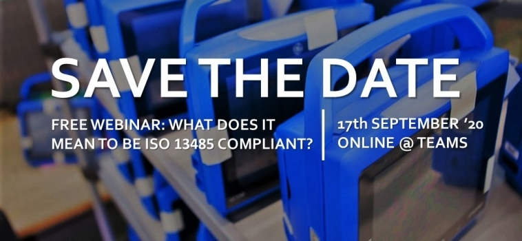 Free Webinar – What does it mean to be ISO 13485 compliant?